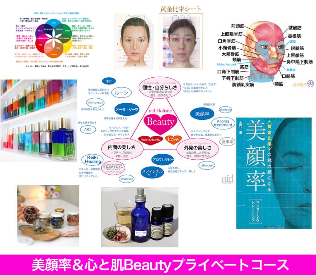 美顔率&心と肌ビューティーセミナープライベートコース