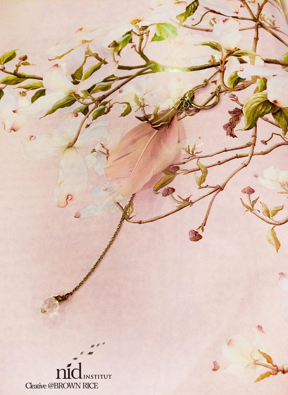 桜とイヤリング