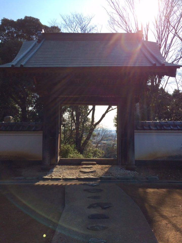松岩寺2019.3.17_裏門海へ