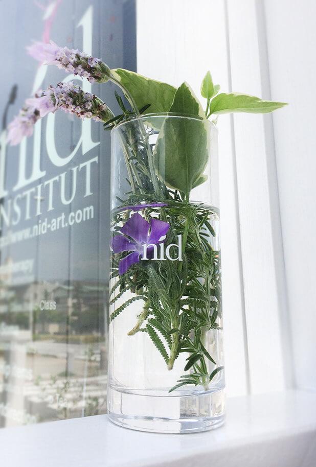 花瓶の植物