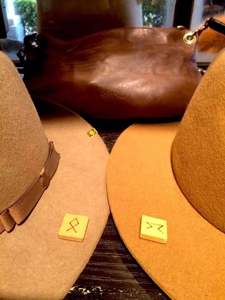 ルーンで帽子を選ぶ