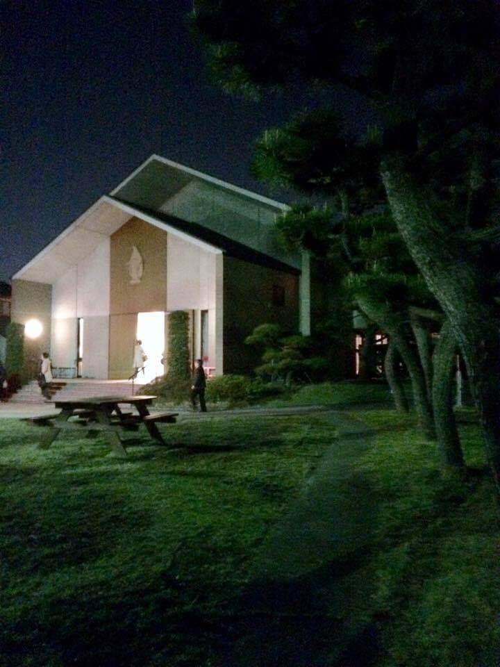十字架の道行 教会