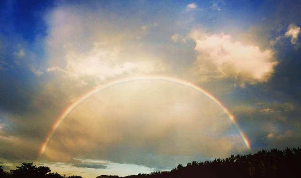 虹を追いかけて_湘南海岸公園