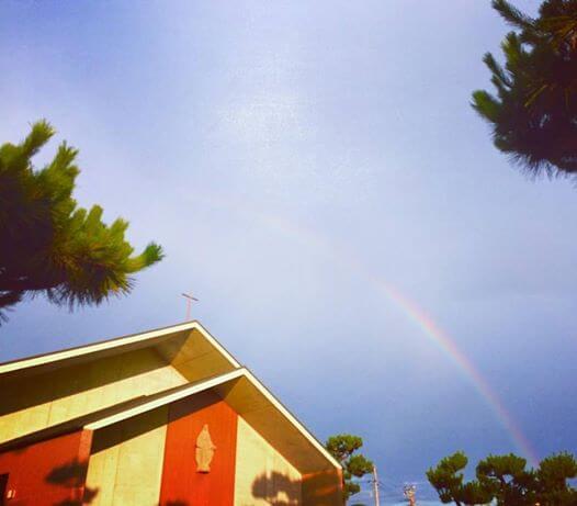虹を追いかけて_教会