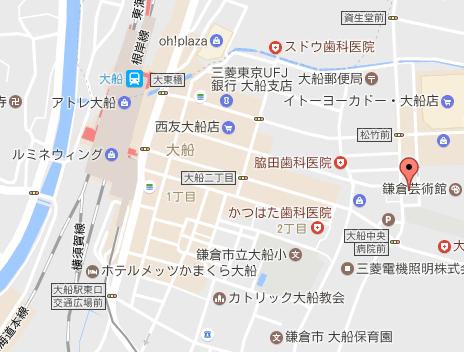 鎌倉ラパットーラ地図