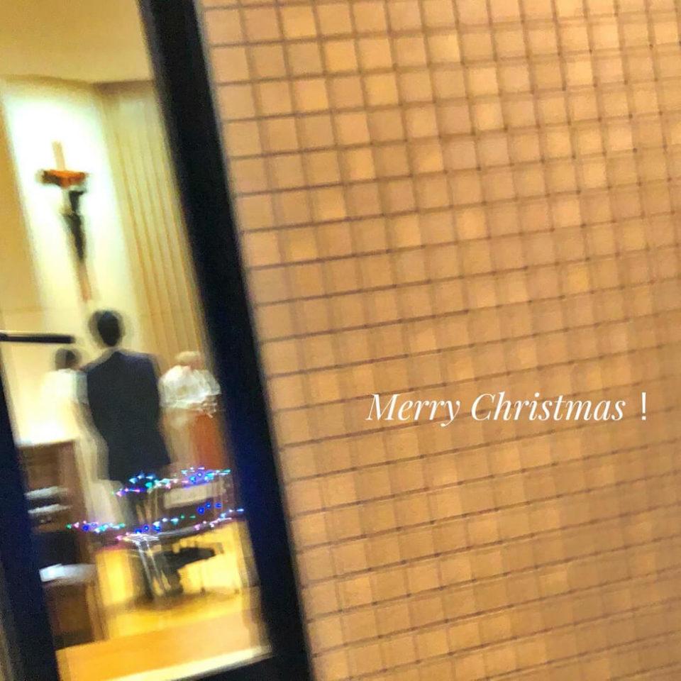 ミサ2020/12/24_窓から