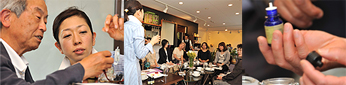 2009年4月クーパーズカフェでのアロマお茶会