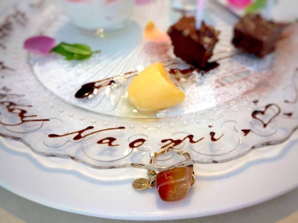 お誕生日お祝いデザート