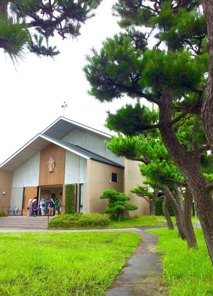 教会 被昇天のミサ