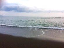 ビーチの波2017.10.8