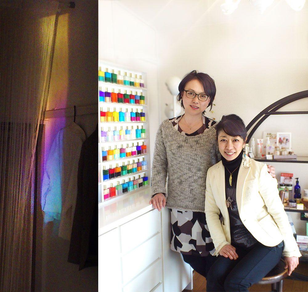 加藤芳子先生とnid-Art-Market