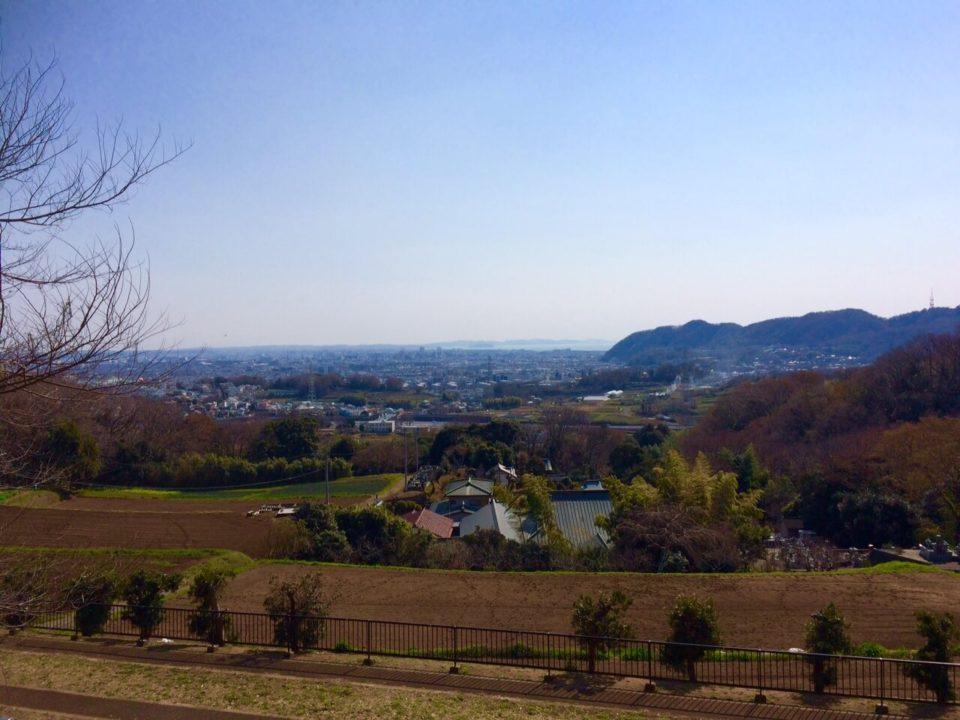 松岩寺2019.3.17_山の上から