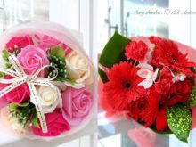 典子さんと奈歩さんのお花
