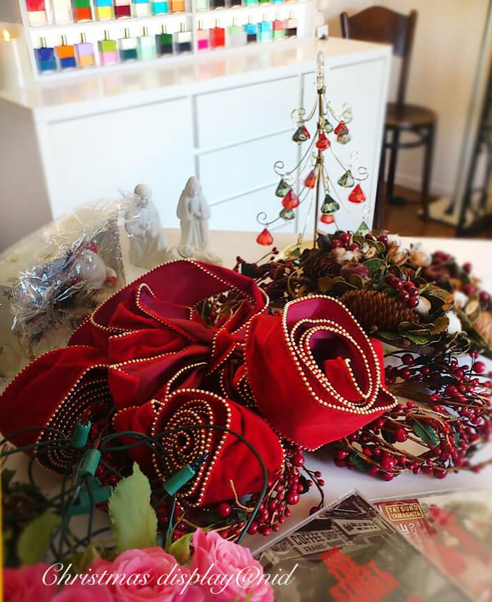 リボン クリスマス