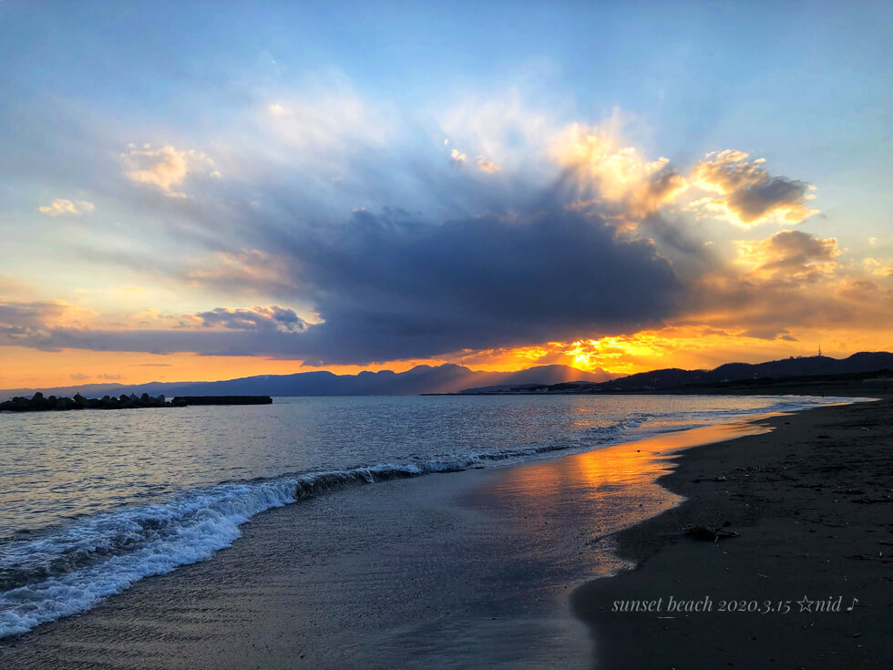 サンセットビーチ3Mar 15 2020