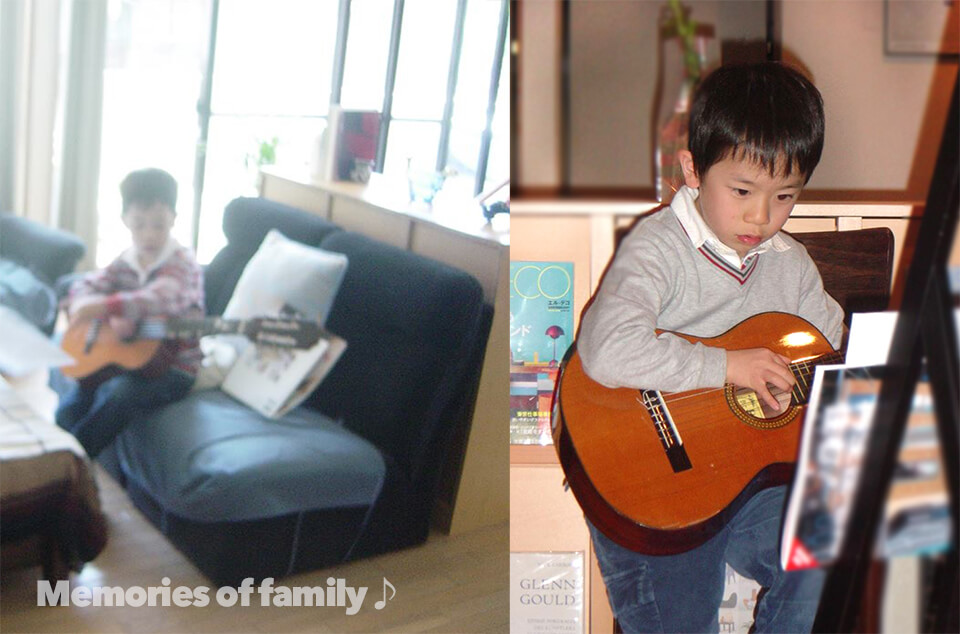 光史のギター子供時代