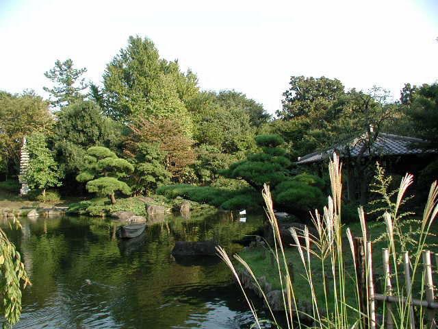 平塚総合公園_日本庭園池