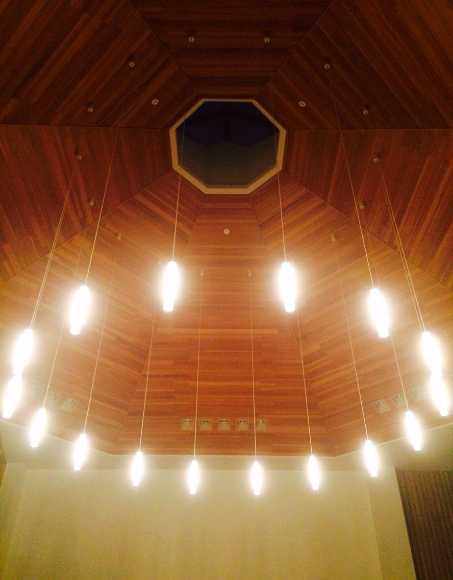 平塚教会の天井