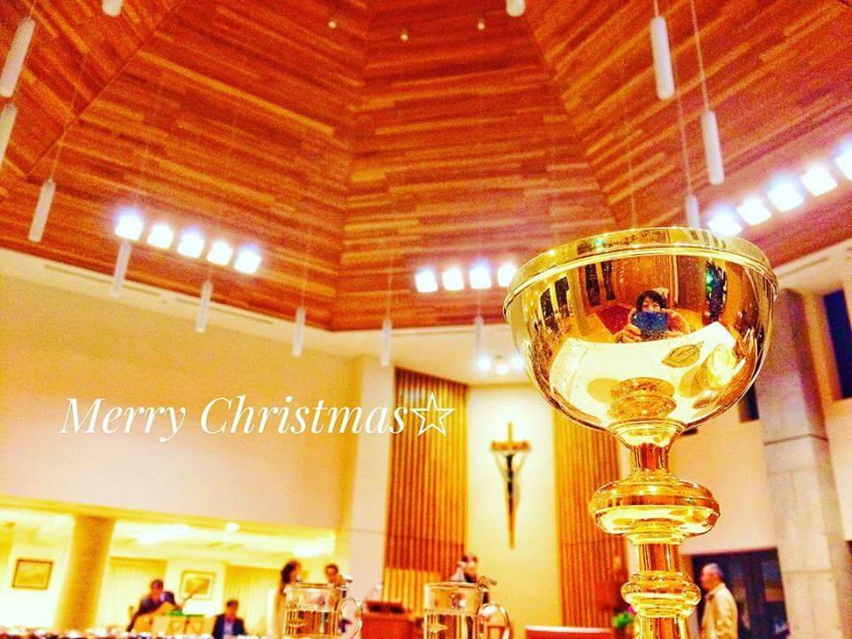 クリスマスイブ聖歌隊のリハーサル2018.12.24