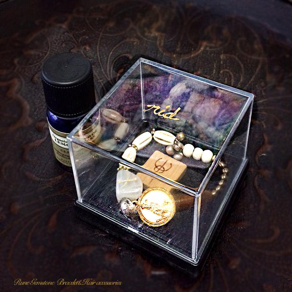 ルーンの宝石ブレスレット&ヘアアクセサリーセット