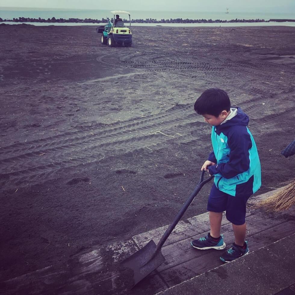 子供達の海掃除2Oct 14 2019
