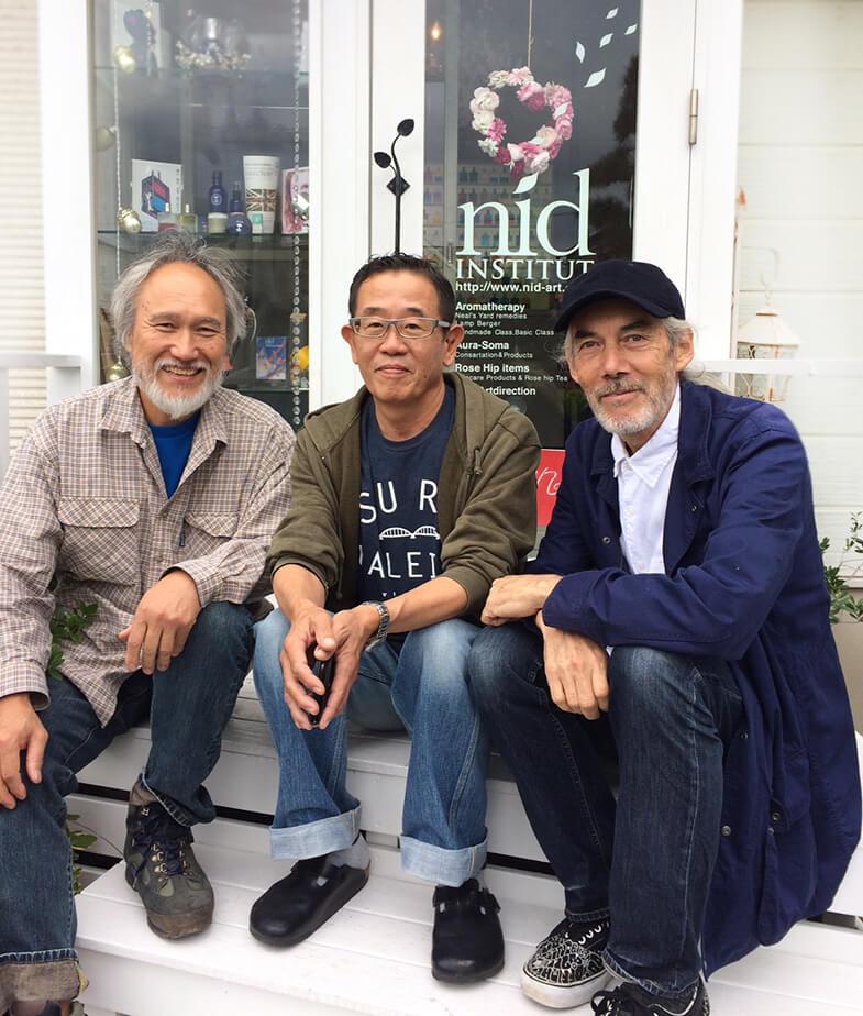 弘幸とエディさんと高橋さん