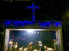 教会のクリスマスウィンドウ