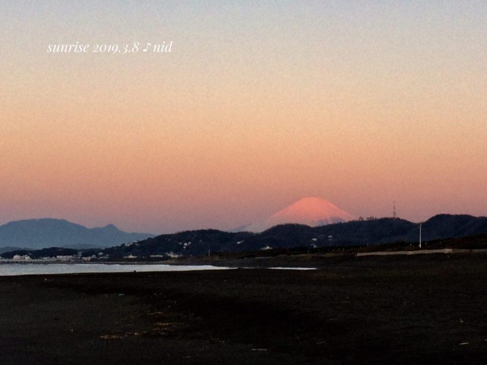 朝2019.3.8_富士山