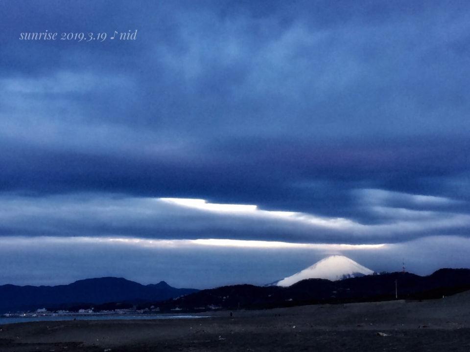 朝2019.3.18_富士山