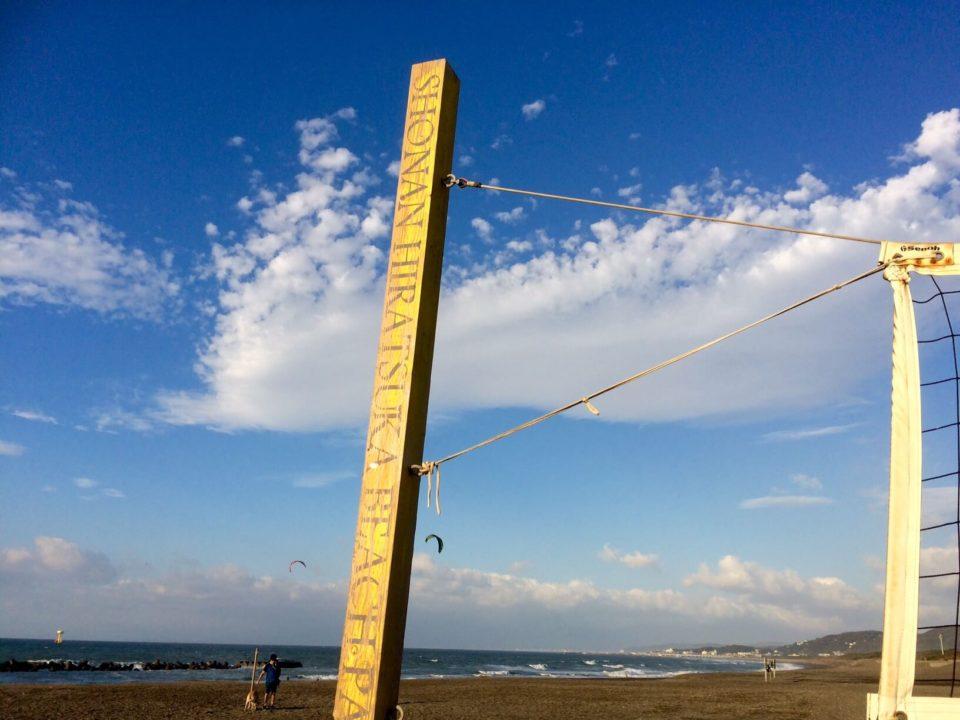朝日2018.10.7_6:20ビーチバレー