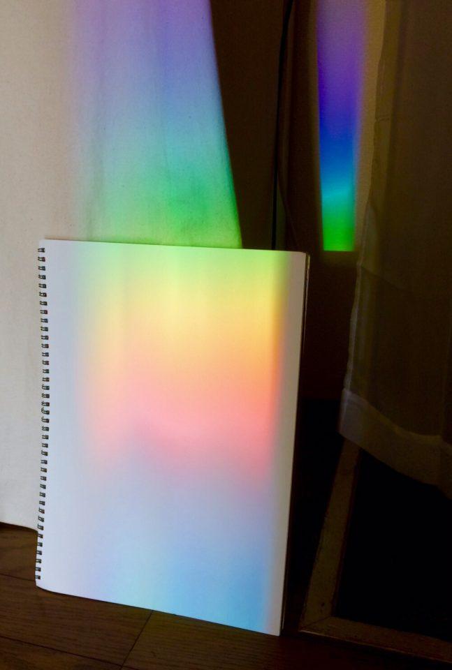 虹とスケッチブック