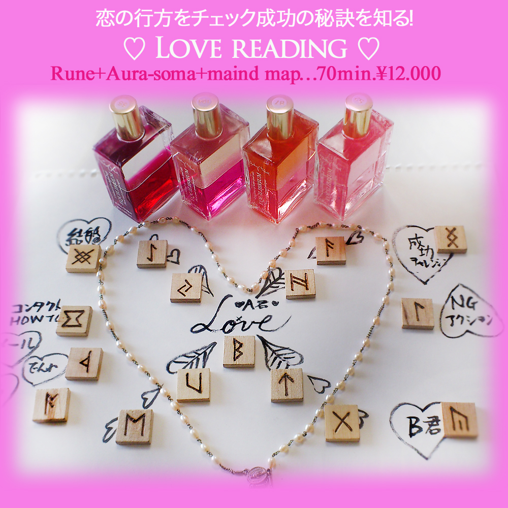 恋愛AS&Rune&マインドマップ12000