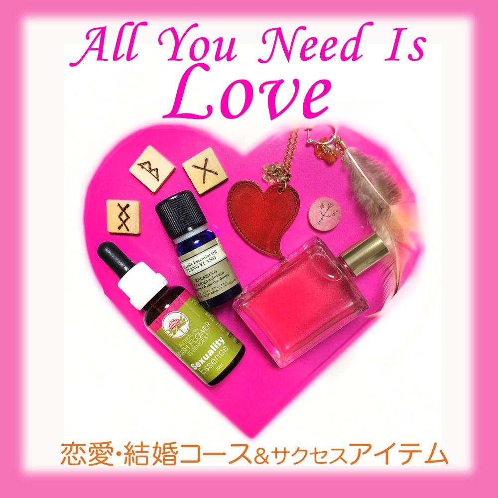 恋愛コース&アイテムテキスト入り