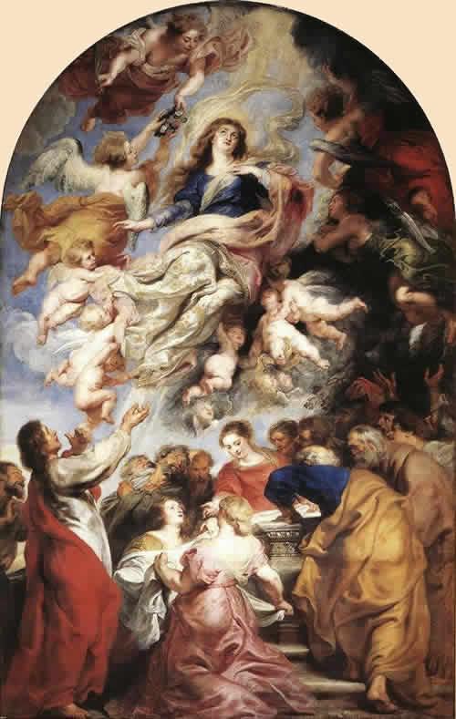 聖母マリア被昇天 ルーベンス