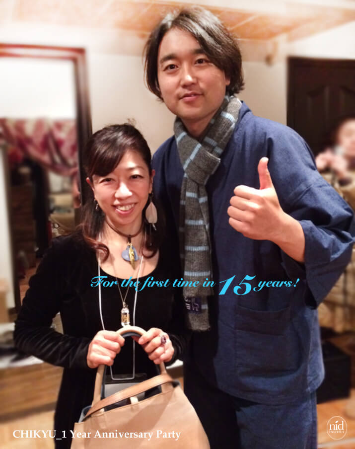 地球1_武田双雲さんと私