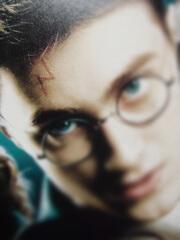 ハリーポッターの額にシゲルのルーン