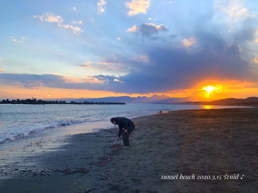 サンセットビーチ1Mar 15 2020