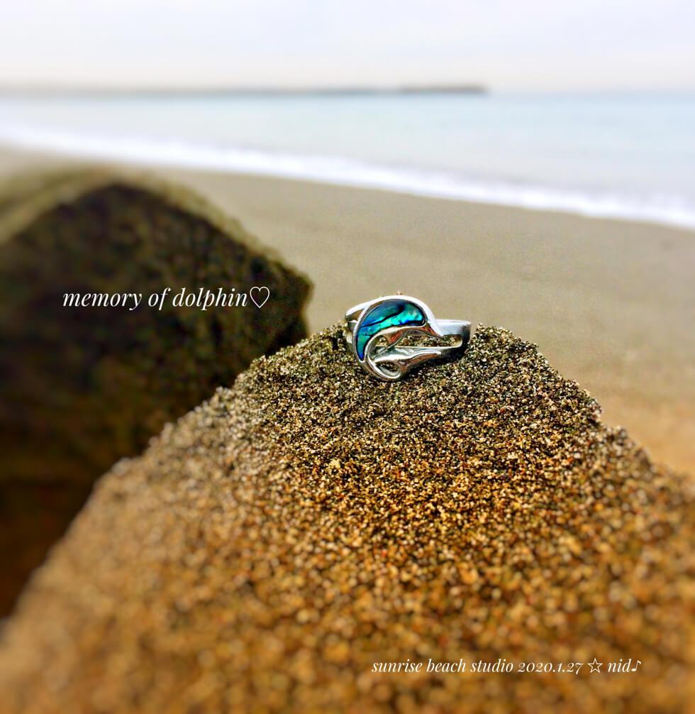 朝4Jan 27 2020 イルカの指輪