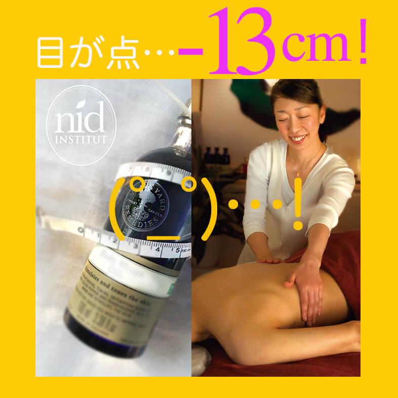 マイナス13cm合成