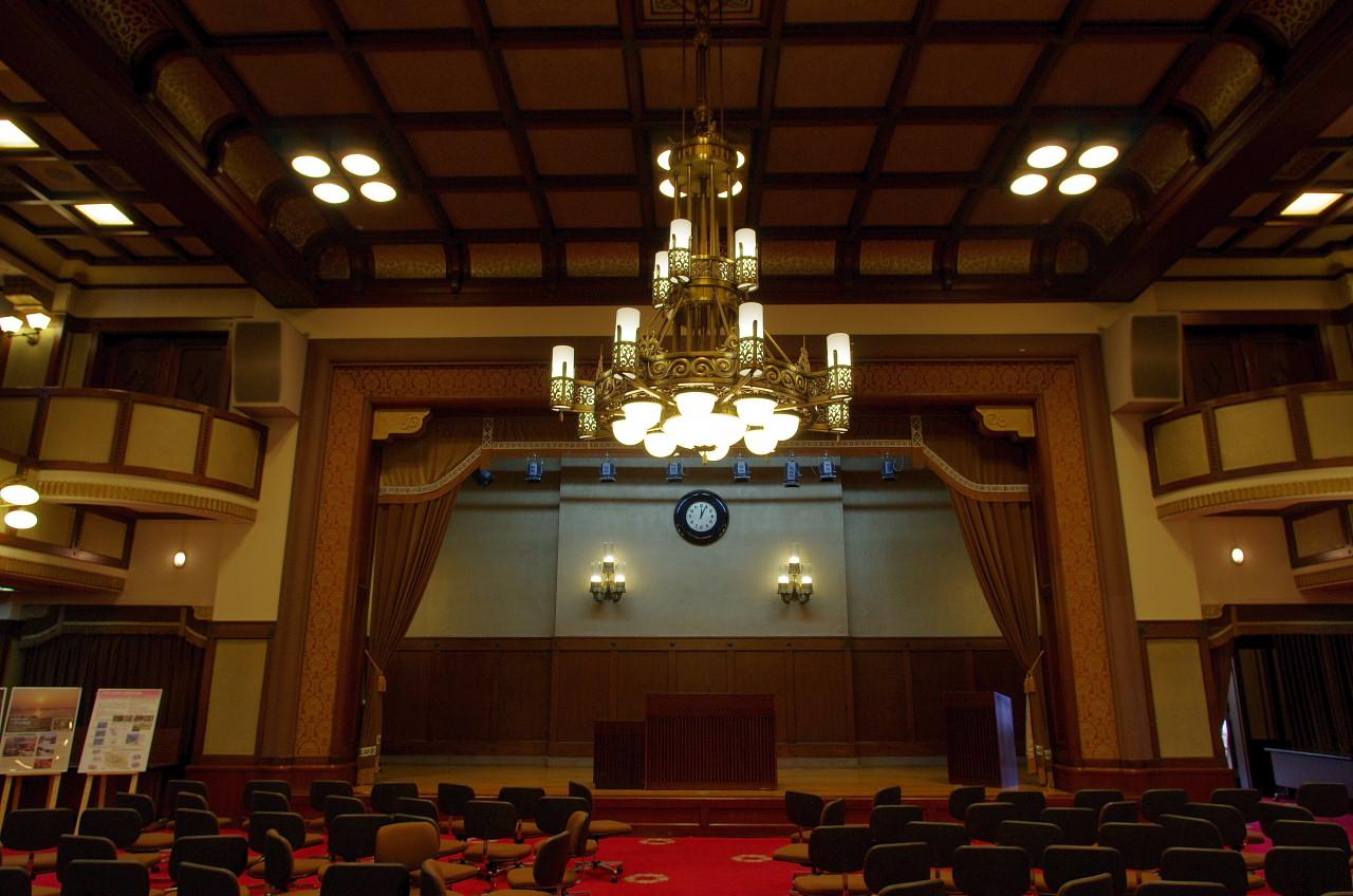 神奈川県庁大会議場