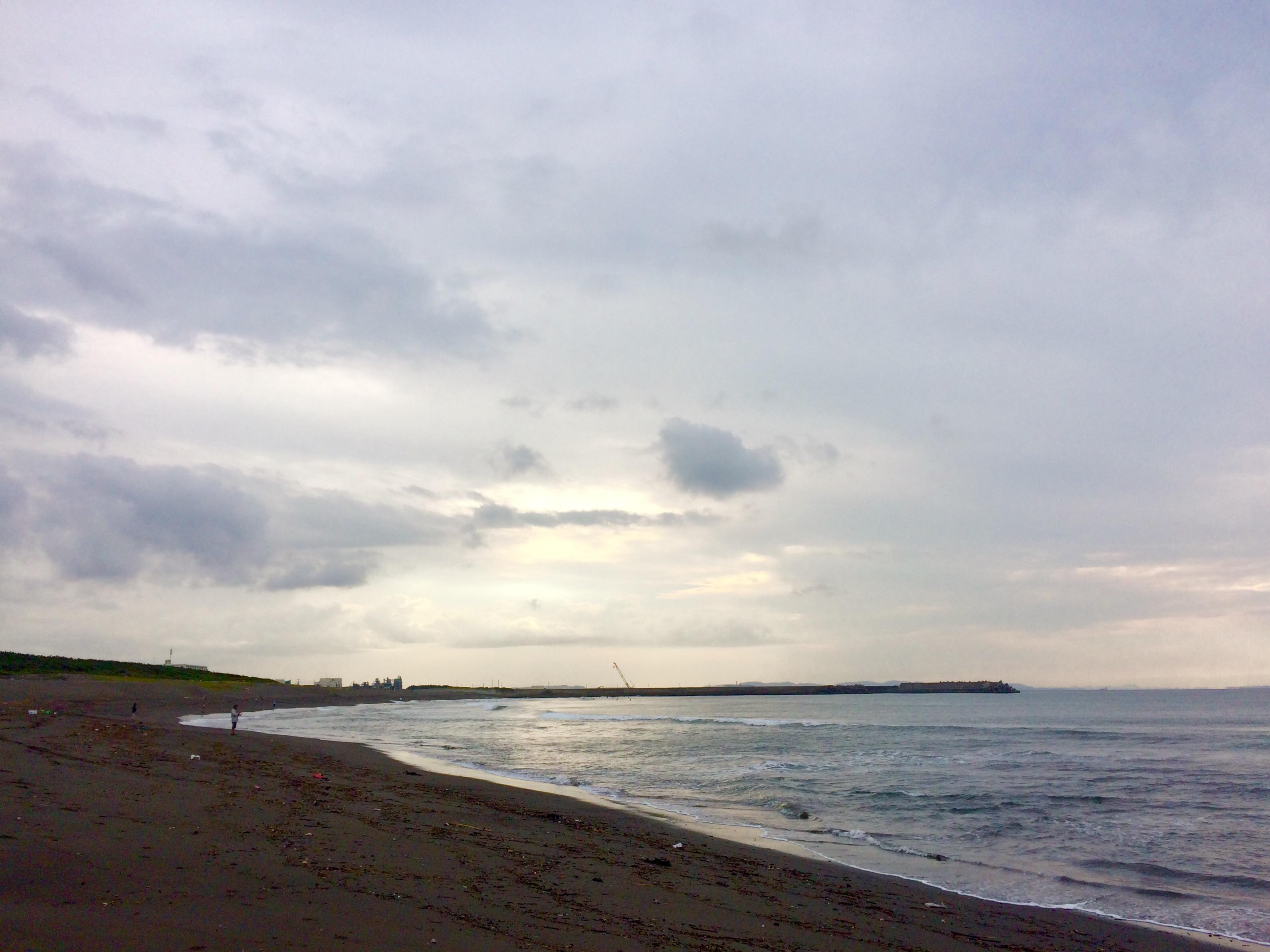 海散歩_東の空