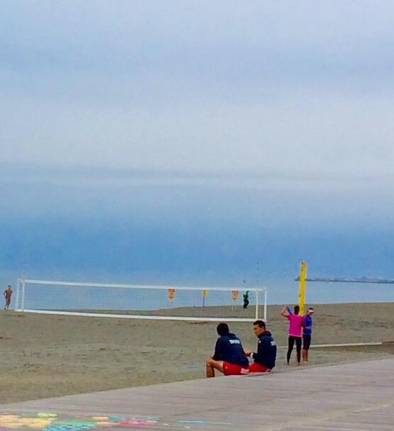海散歩_ビーチバレー