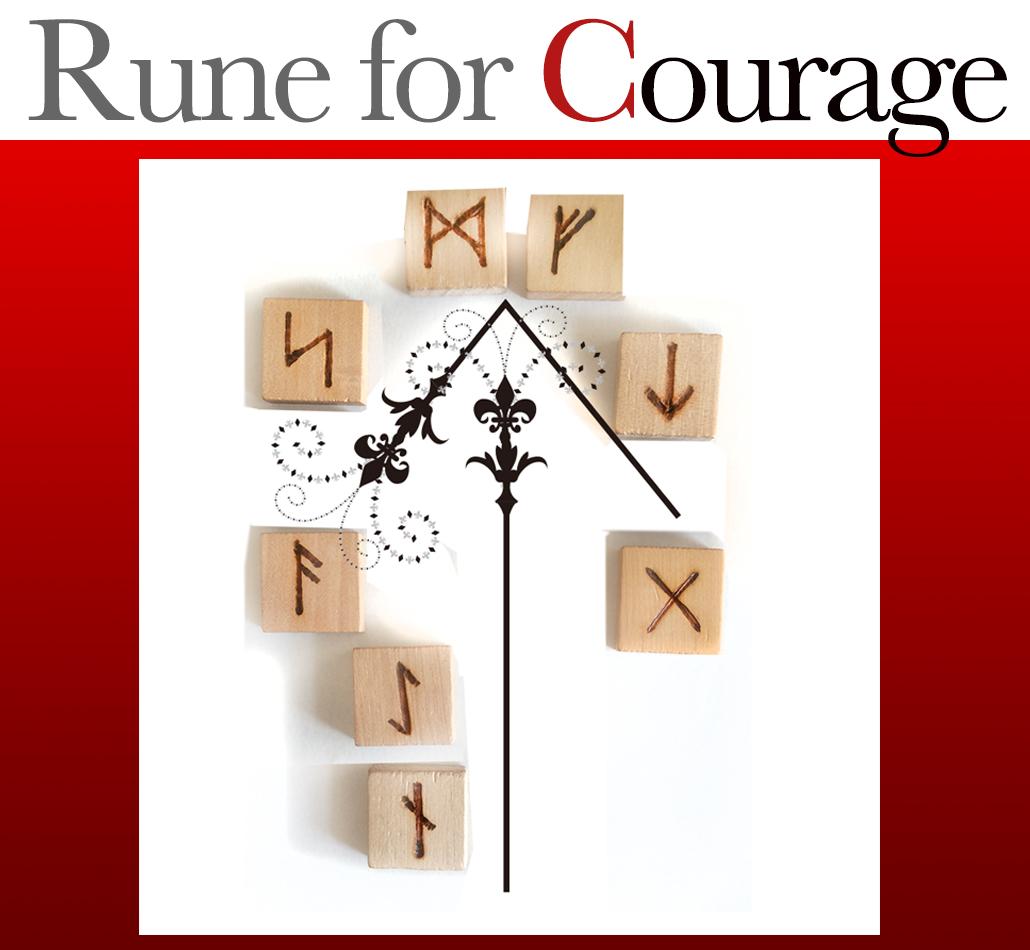 勇気を出したい時のルーン『テュールのルーン』